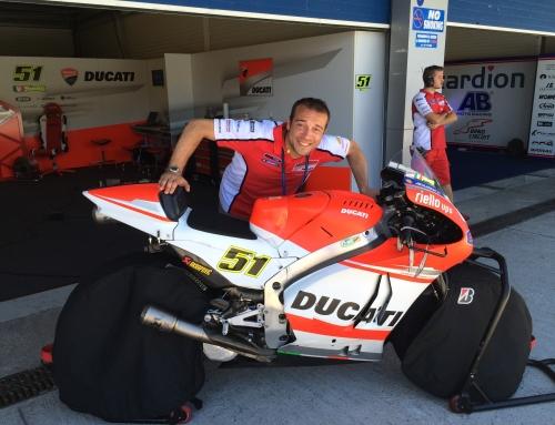 Moto GP: Collaborazione tra Centro Fisiomedic e Michele Pirro – Pilota Ducati